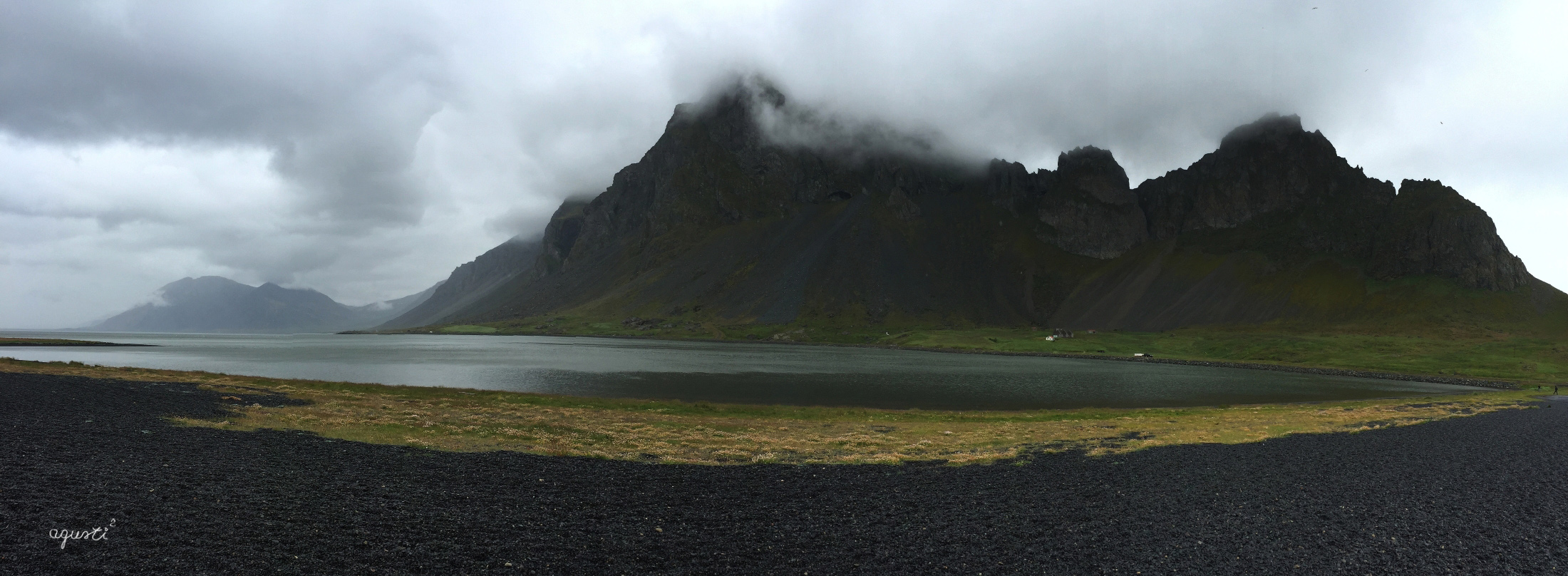PANORAMICA DE LA PENÍNSULA DE STOKKNES – EST D'ISLANDIA - ISLANDIA - PANORAMIQUES EST D´ISLANDIA - Fotografies deL Est ISLANDIA,  DJUPIVOGUR – STOKKNES