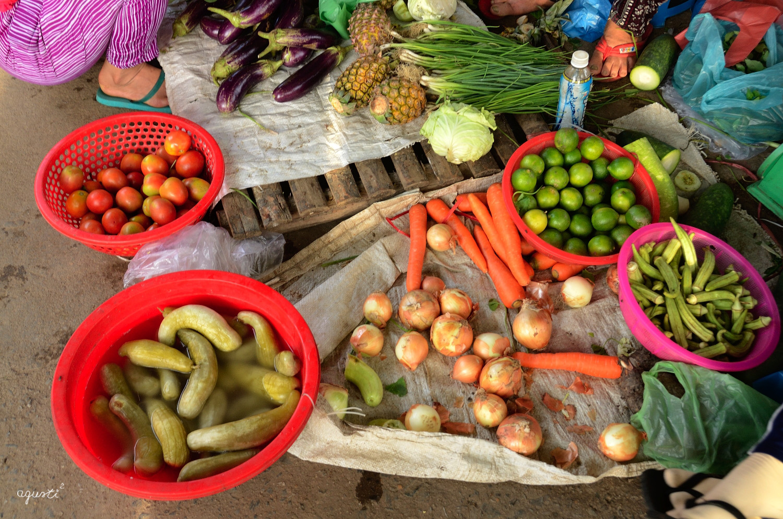Mercat Lang Moc Kim Bong - HOIAN - VIETNAM - MERCATS - mercats de diferentes ciutats del vietnam