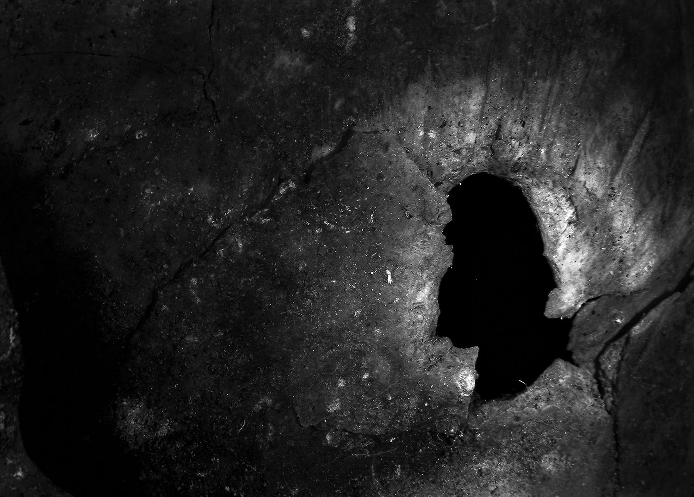 Cráneo perforado V, 2018 - Niebla (2018) - Ana Frechilla, proyecto fotográfico