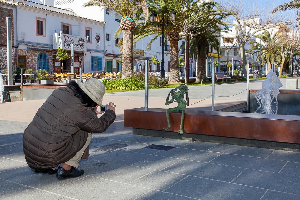 Passeig des Ses Alameres - Andreu Moreno, Escultor