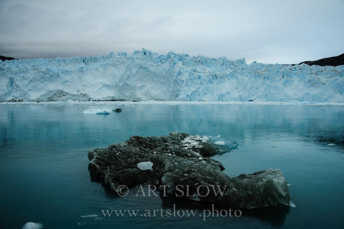Huella de Glaciar - Glaciar Eqip Sermia, Greenland. Edición: 10/10 + 2P/A - Greenland Catedrales de Hielo - Catedrales de Hielo