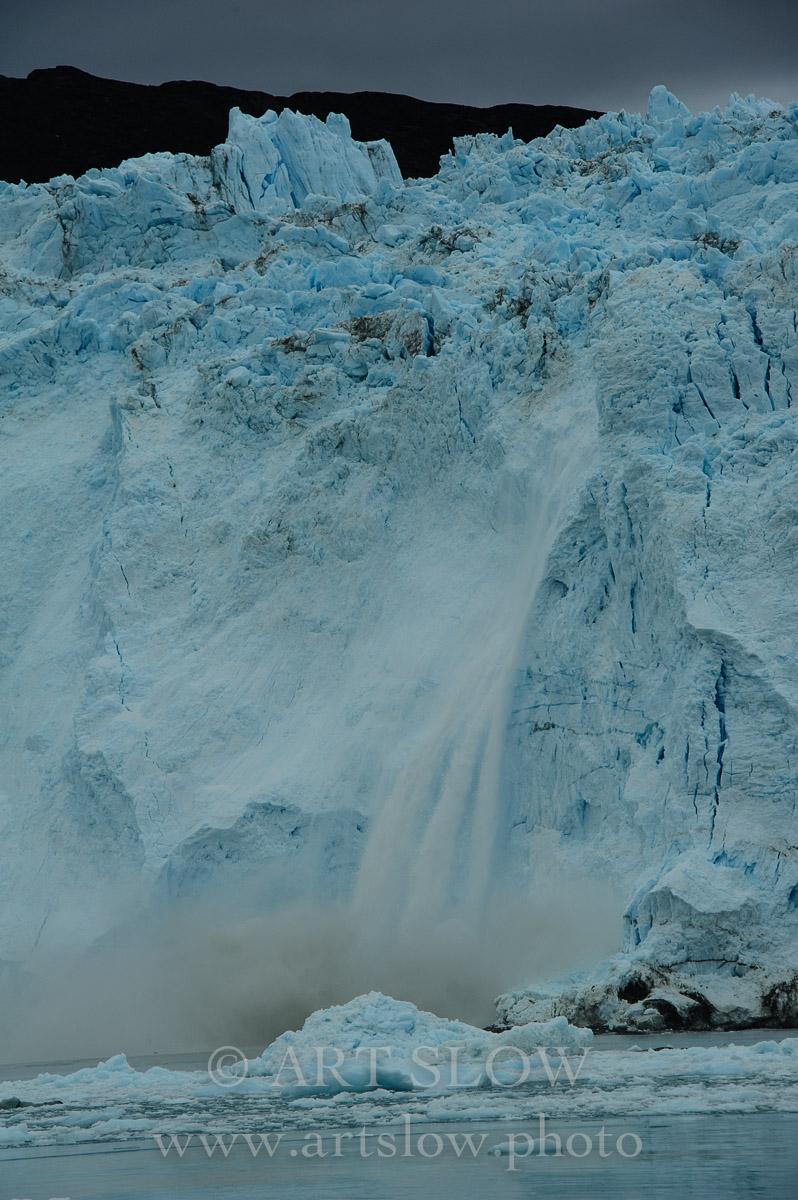 Corazón roto,  - Glaciar Eqip Sermia, Greenland. Edición: 10/10 + 2P/A - Greenland Catedrales de Hielo - Catedrales de Hielo