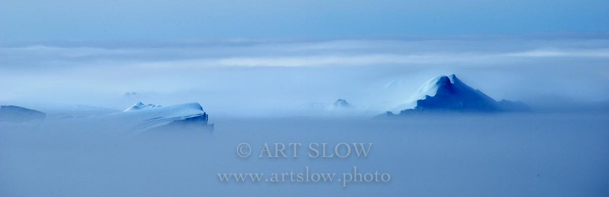 Amor Iluso - Icebergs desprendidos del glaciar Sermeq Kujalleq, Bahía de Disko, Greenland. Edición: 10/10 + 2P/A - Greenland Catedrales de Hielo - Catedrales de Hielo