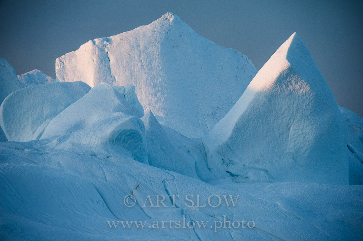 Pureza glaciar - Fiordo Ikerasak Ataa Sund, Greenland. Edición: 10/10 + 2P/A - Greenland Catedrales de Hielo - Catedrales de Hielo