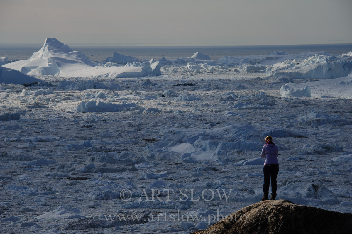 Wow - Glaciar Sermeq Kujalleq, Bahía de Disko, Ilulissat, Greenland. Edición: 10/10 + 2P/A - Paisaje Humano Slow - Paisaje Humano
