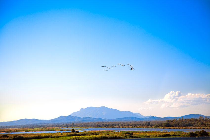 Zambeze a su paso por el parque de la Gorongosa-Sofala  -  Norte de Mozambique paisajes - Augusto Rodríguez, Landscape & Portrait