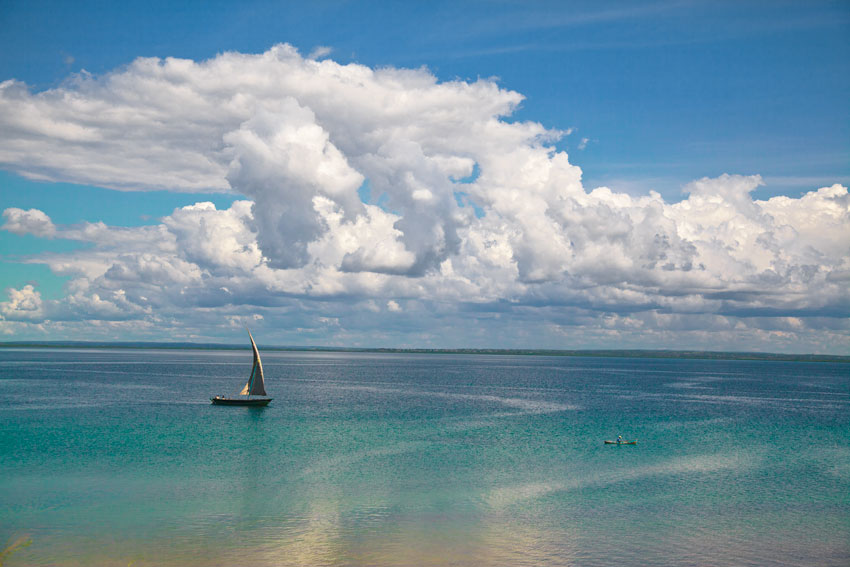 Bahia de Pemba desde pakitiketi -  Norte de Mozambique paisajes - Augusto Rodríguez, Landscape & Portrait
