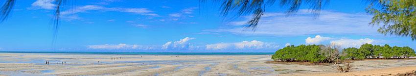 Playa de Morrébue- Cabo Delgado -  Norte de Mozambique paisajes - Augusto Rodríguez, Landscape & Portrait