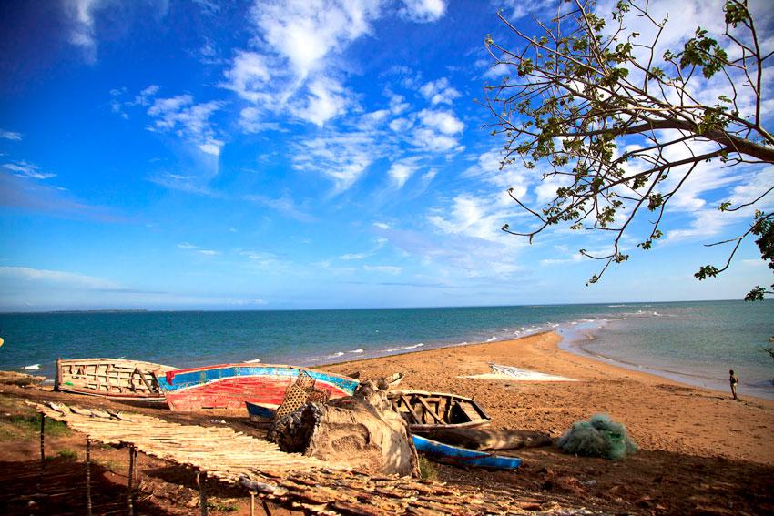 Isla de nonge- archipiélago de las quirimbas -  Norte de Mozambique paisajes - Augusto Rodríguez, Landscape & Portrait