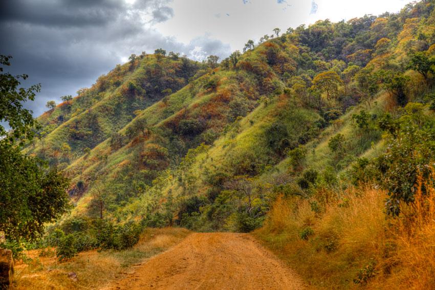 Metangula- Nyassa -  Norte de Mozambique paisajes - Augusto Rodríguez, Landscape & Portrait