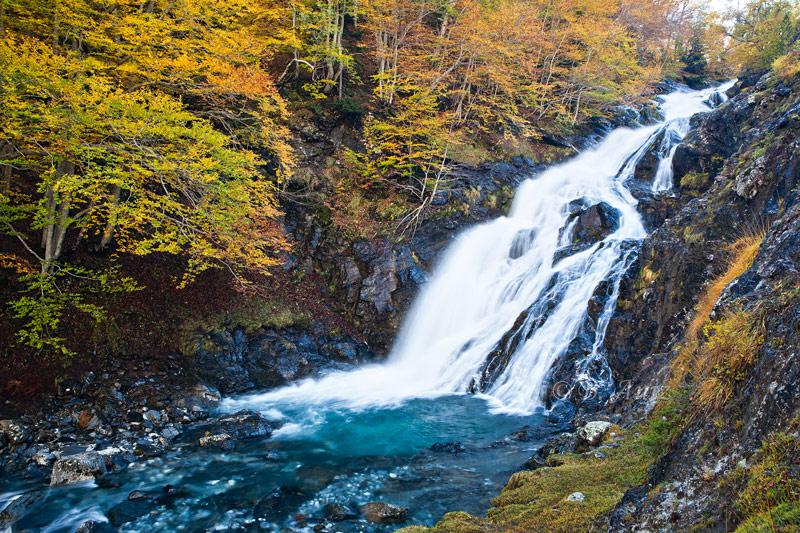 Río Ordiso - Valle de Bujaruelo - Otoño en el Pirineo - Bakartxo Aniz Aldasoro, Fotografía de naturaleza, etnografía y viajes