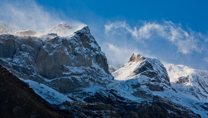 Las tres Sorores. - Otoño en el Pirineo - Bakartxo Aniz Aldasoro, Fotografía de naturaleza, etnografía y viajes