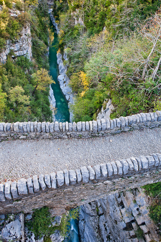 Puente románico de San Urbez - Cañón de Añisclo. - Otoño en el Pirineo - Bakartxo Aniz Aldasoro, Fotografía de naturaleza, etnografía y viajes