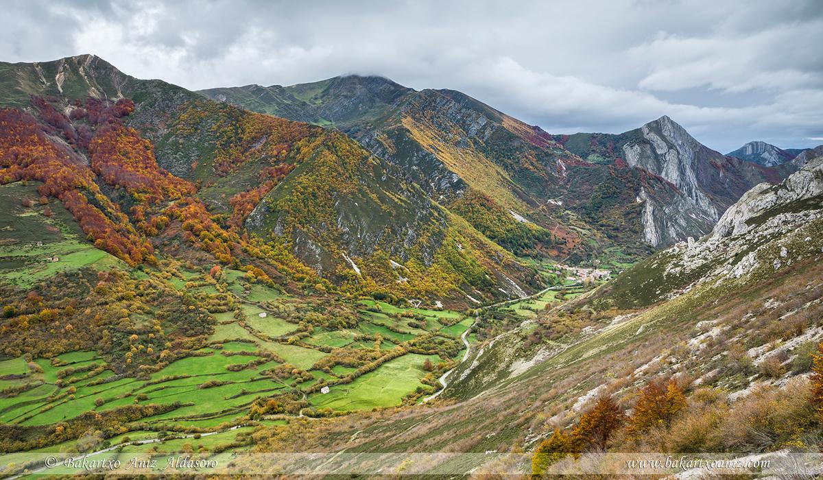 Caunedo - Somiedo - Somiedo - Tierra de teitos y bosques - Bakartxo Aniz - Fotografías de Asturias. Somiedo - Muniellos.