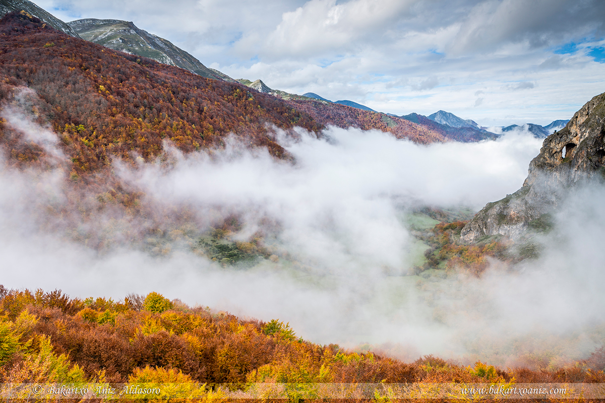 La Enramada - Somiedo - Somiedo - Tierra de teitos y bosques - Bakartxo Aniz - Fotografías de Asturias. Somiedo - Muniellos.