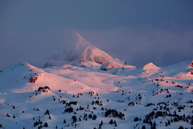 Atardecer sobre el Anie - Navarra - Paisaje - Bakartxo Aniz - Fotografías de paisajes en Pirineos, Suiza y Venezuela.