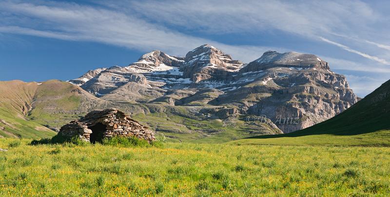 Las tres Sorores y la Punta de las Olas - Pirineos - Paisaje - Bakartxo Aniz - Fotografías de paisajes en Pirineos, Suiza y Venezuela.