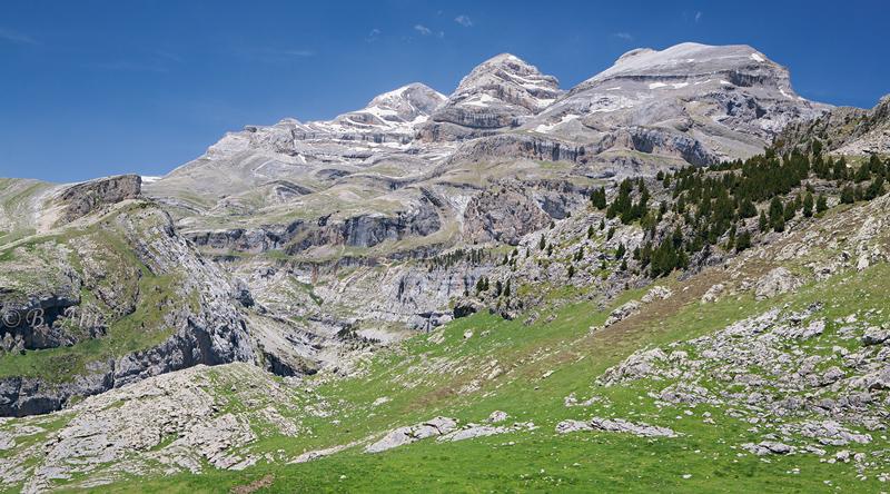 Monte perdido, Pico Añisclo y Punta de las Olas - Pirineos - Paisaje - Bakartxo Aniz - Fotografías de paisajes en Pirineos, Suiza y Venezuela.