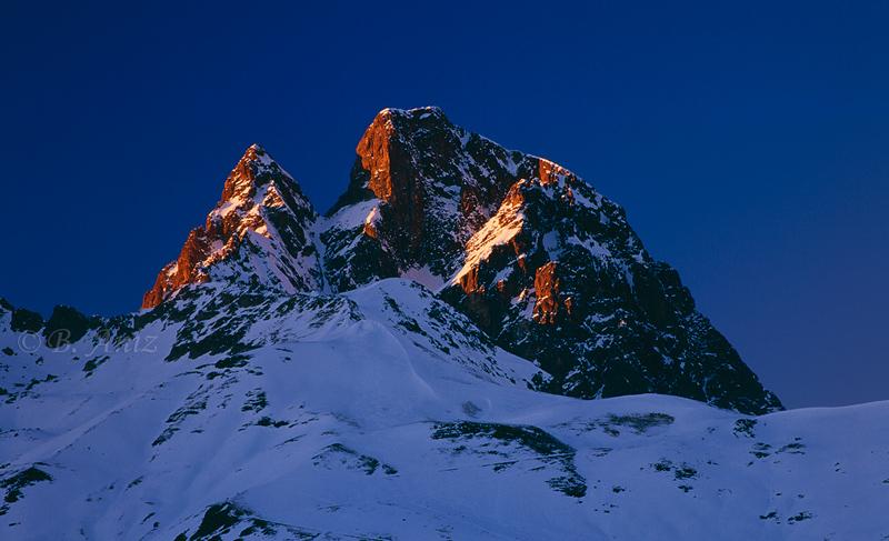 Midi d'Ossau - Pirineos - Paisaje - Bakartxo Aniz - Fotografías de paisajes en Pirineos, Suiza y Venezuela.
