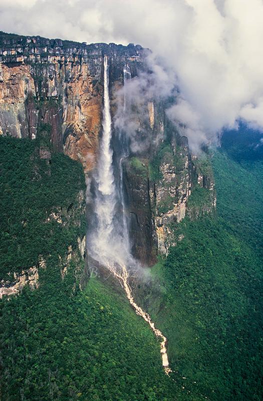 Cascada más alta del mundo: Salto Ángel - Venezuela - Paisaje - Bakartxo Aniz - Fotografías de paisajes en Pirineos, Suiza y Venezuela.