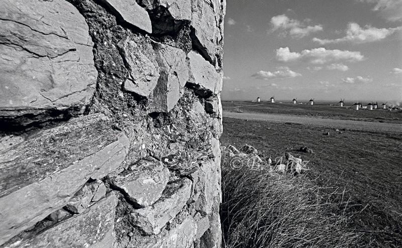 Molinos de la Mancha - Bakartxo Aniz - Fotografías sobre los Molinos de viento - La Mancha.