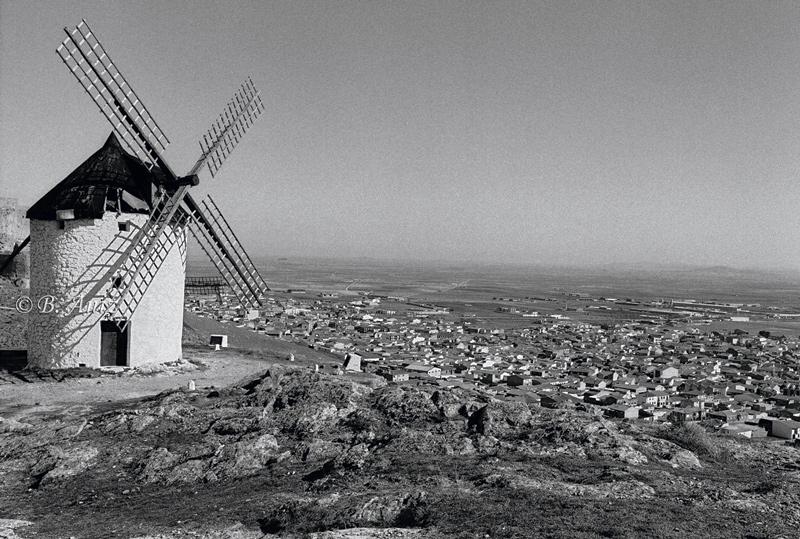 Consuegra - Molinos de la Mancha - Bakartxo Aniz - Fotografías sobre los Molinos de viento - La Mancha.