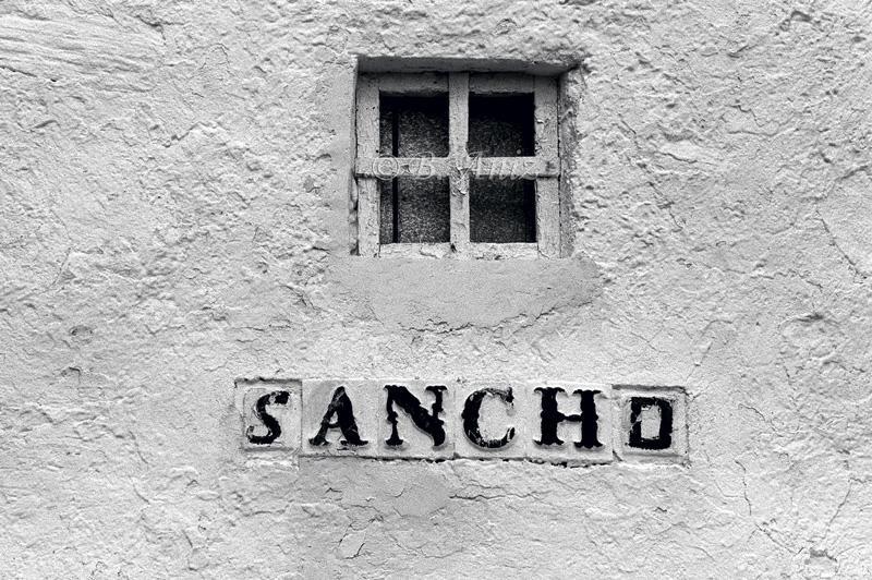 Ventana de molino - Molinos de la Mancha - Bakartxo Aniz - Fotografías sobre los Molinos de viento - La Mancha.