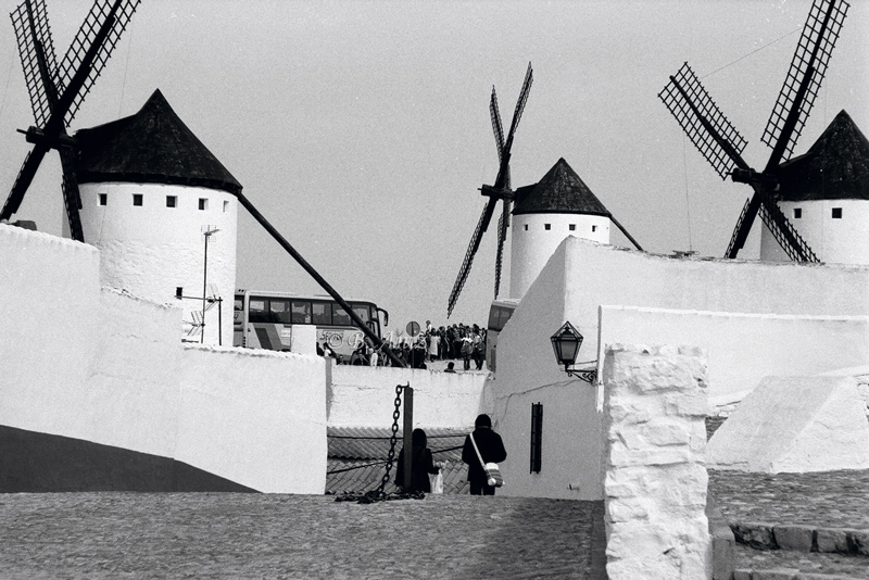 Turismo en los molinos de Campo de Criptana - Molinos de la Mancha - Bakartxo Aniz - Fotografías sobre los Molinos de viento - La Mancha.