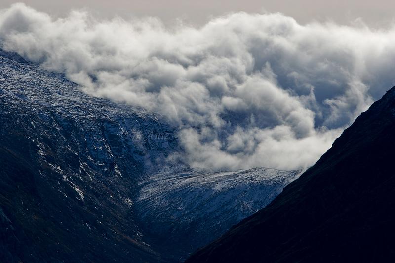 Tormenta sobre glaciar - Alpes suizos - Bakartxo Aniz - Fotografías de los Alpes suizos. Cervino - Matterhorn.