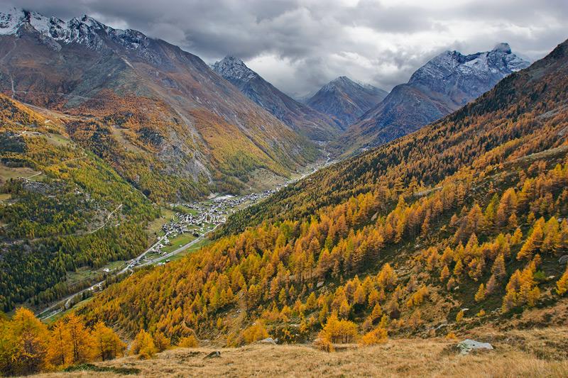 Saastal - Alpes suizos - Bakartxo Aniz - Fotografías de los Alpes suizos. Cervino - Matterhorn.