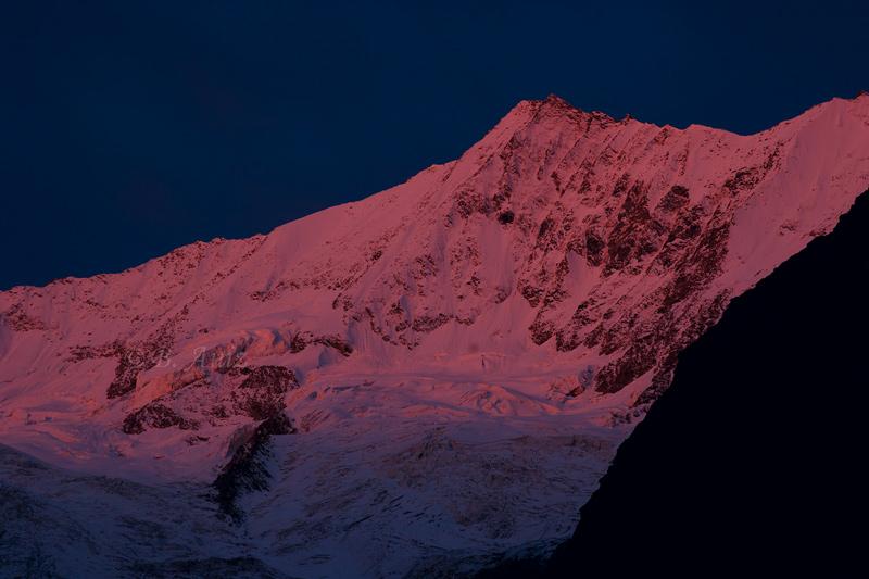 Resplandor alpino - Alpes suizos - Bakartxo Aniz - Fotografías de los Alpes suizos. Cervino - Matterhorn.