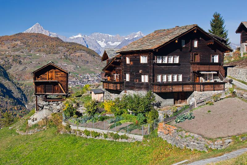 Grächen - Alpes suizos - Bakartxo Aniz - Fotografías de los Alpes suizos. Cervino - Matterhorn.