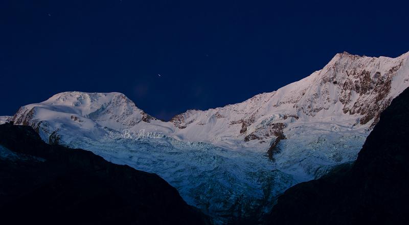 La magia de la noche - Alpes suizos - Bakartxo Aniz - Fotografías de los Alpes suizos. Cervino - Matterhorn.