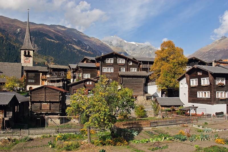 Ernen - Alpes suizos - Bakartxo Aniz - Fotografías de los Alpes suizos. Cervino - Matterhorn.