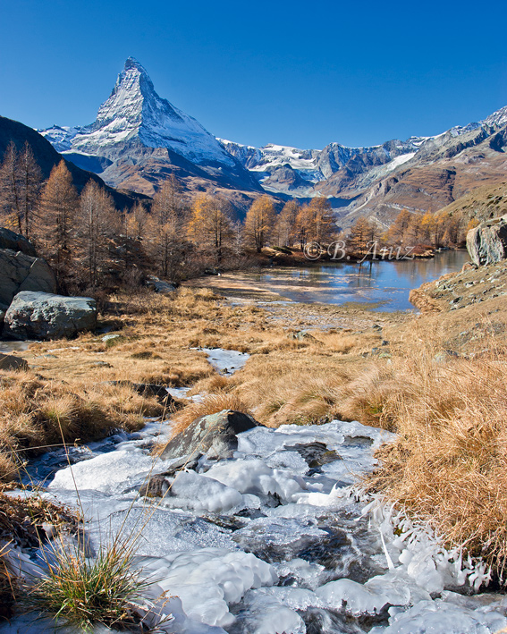 Grindjesee - Alpes suizos - Bakartxo Aniz - Fotografías de los Alpes suizos. Cervino - Matterhorn.
