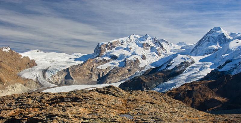 Monte Rosa - Alpes suizos - Bakartxo Aniz - Fotografías de los Alpes suizos. Cervino - Matterhorn.