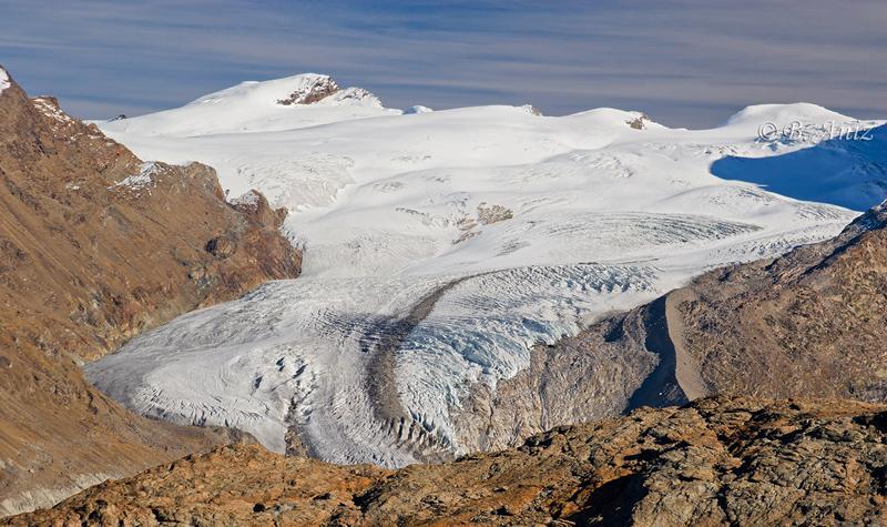Glaciar - Alpes suizos - Bakartxo Aniz - Fotografías de los Alpes suizos. Cervino - Matterhorn.