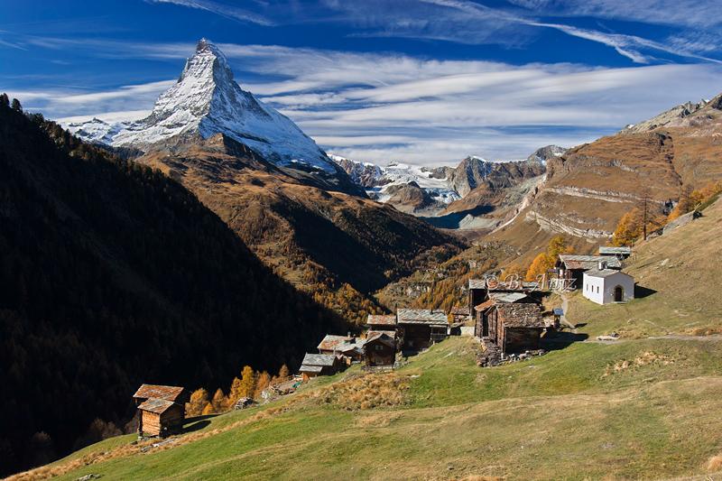 Findeln y Cervino - Alpes suizos - Bakartxo Aniz - Fotografías de los Alpes suizos. Cervino - Matterhorn.