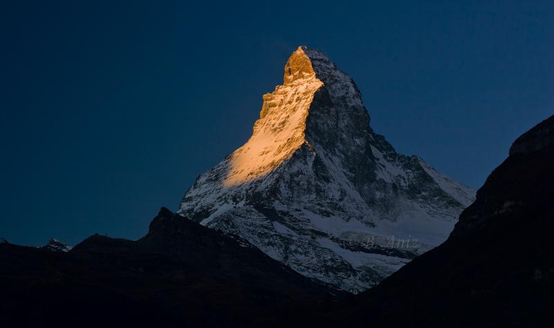 Después amanece... - Alpes suizos - Bakartxo Aniz - Fotografías de los Alpes suizos. Cervino - Matterhorn.