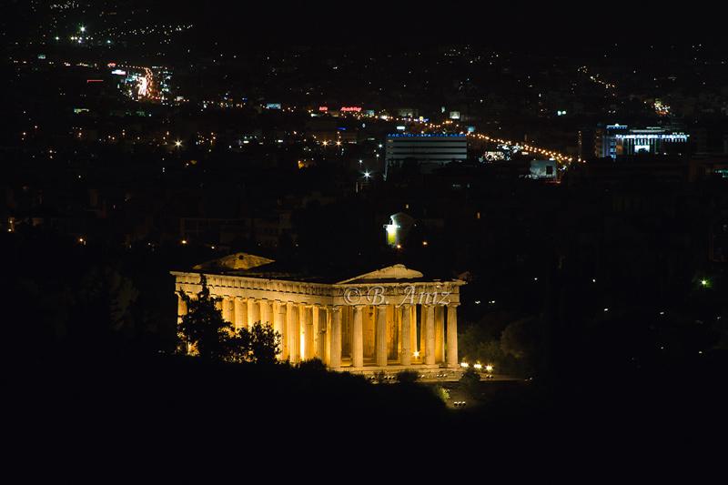 Ágora y ciudad de Atenas - Grecia - Bakartxo Aniz - Fotografías de Grecia. Naxos, Santorini.