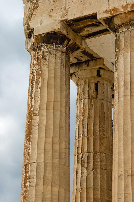 Partenón - acrópolis Atenas - Grecia - Bakartxo Aniz - Fotografías de Grecia. Naxos, Santorini.
