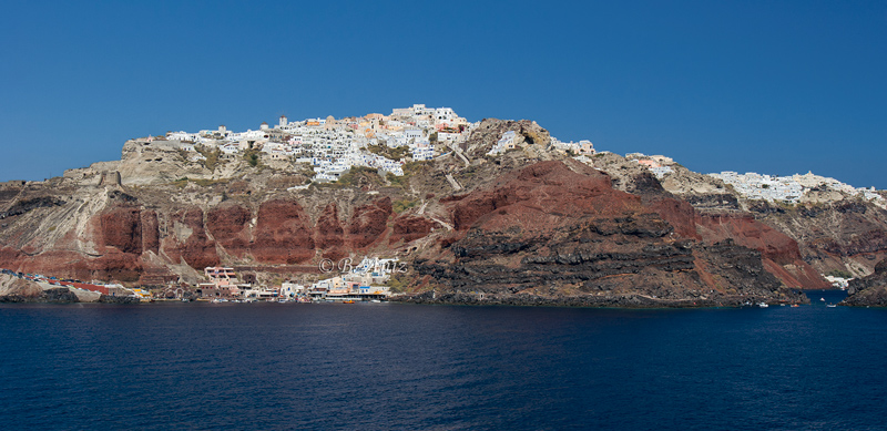 Oia - Santorini - Grecia - Bakartxo Aniz - Fotografías de Grecia. Naxos, Santorini.