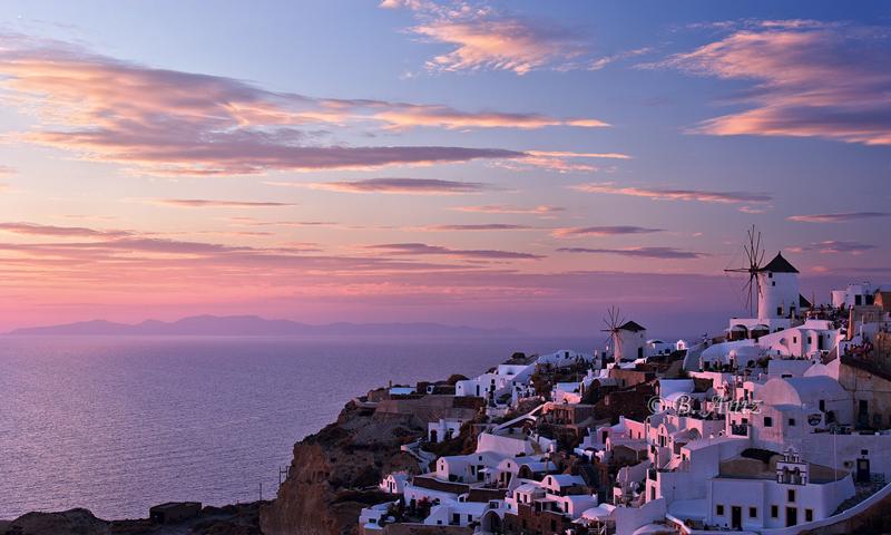 Puesta de sol - Santorini - Grecia - Bakartxo Aniz - Fotografías de Grecia. Naxos, Santorini.
