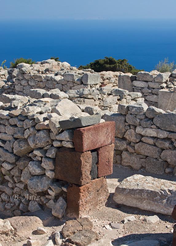 Acrópolis - Santorini - Grecia - Bakartxo Aniz - Fotografías de Grecia. Naxos, Santorini.