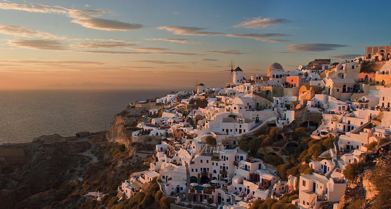 Atardecer en Oia - Santorini - Grecia - Bakartxo Aniz - Fotografías de Grecia. Naxos, Santorini.
