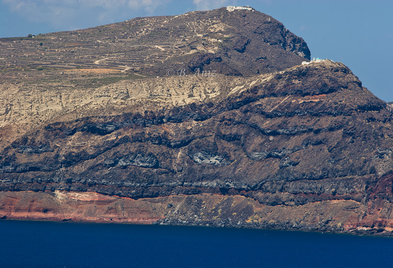 Isla de lava - Santorini - Grecia - Bakartxo Aniz - Fotografías de Grecia. Naxos, Santorini.