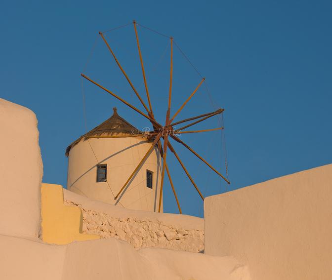 Molino - Oia - Grecia - Bakartxo Aniz - Fotografías de Grecia. Naxos, Santorini.