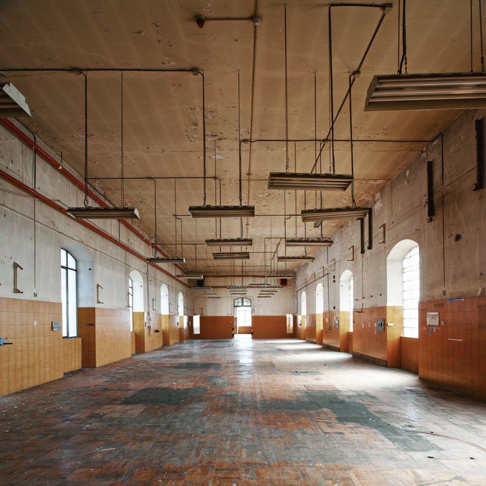 industrial solarium - DERELICT TYPOLOGIES - cesar azcarate photography, galleries, derelict typologies