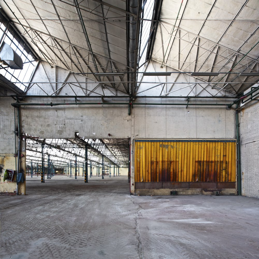 the production lines are not there - DERELICT TYPOLOGIES - cesar azcarate photography, galleries, derelict typologies