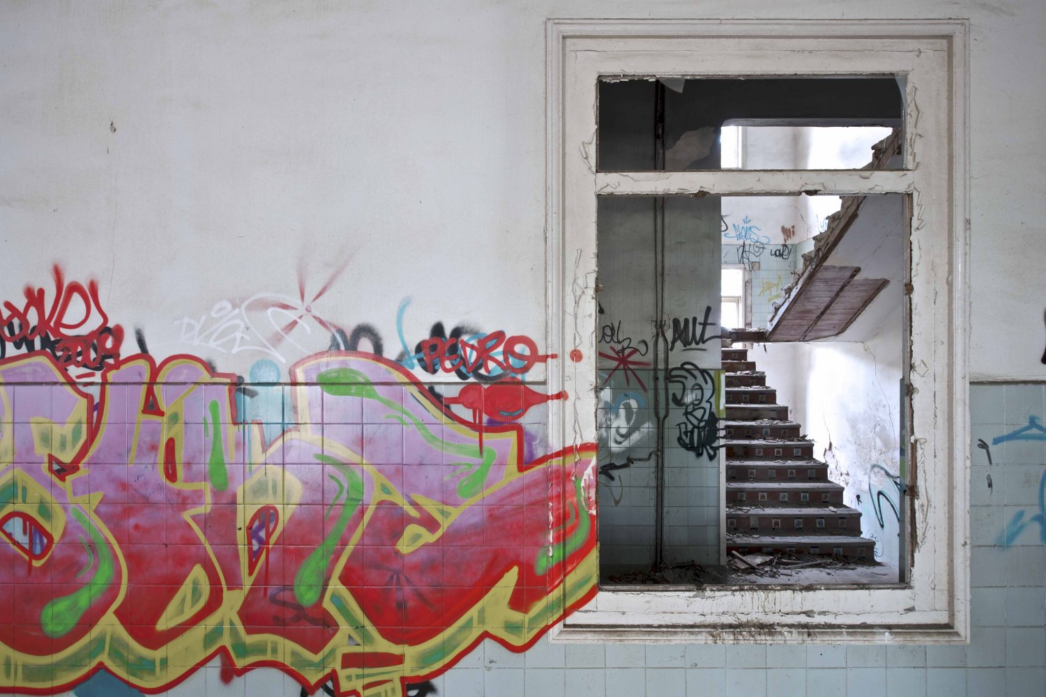 going around - ABANDONMENTS - cesar azcarate photography, galleries, abandonments